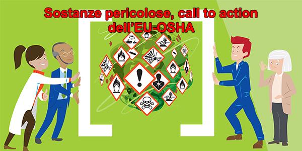 Sostanze pericolose, call to action dell'EU-OSHA