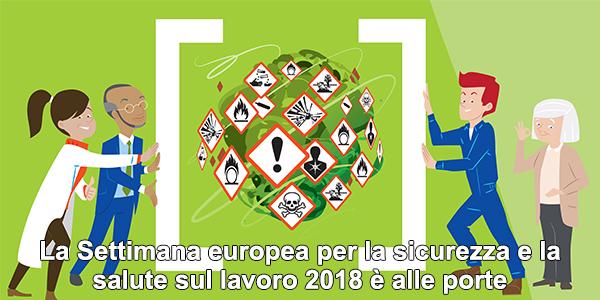 La Settimana europea per la sicurezza e la salute sul lavoro 2018 è alle porte
