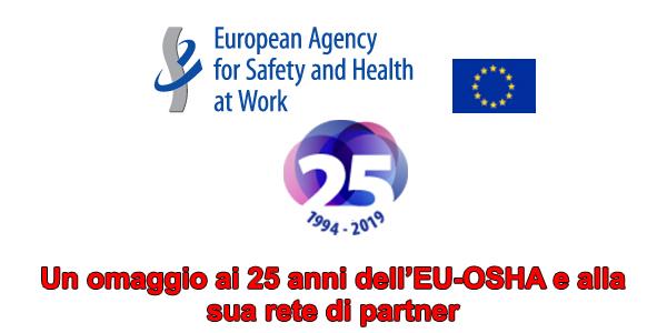 Un omaggio ai 25 anni dell'EU-OSHA e alla sua rete di partner