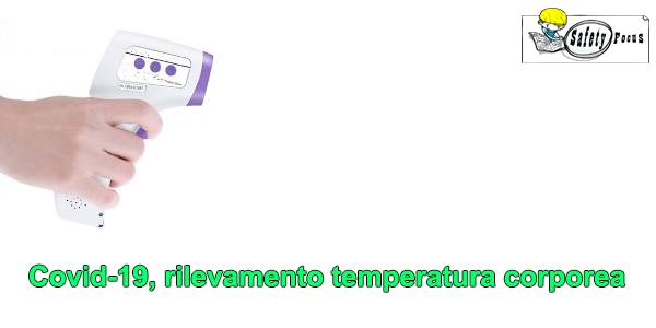 Covid-19, rilevamento temperatura corporea